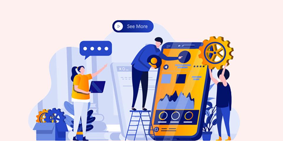 طراح UI UX در مشاغل بازاریابی محتوا
