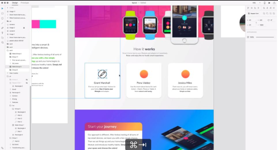 ابزار رایگان طراحی سایت Adobe XD