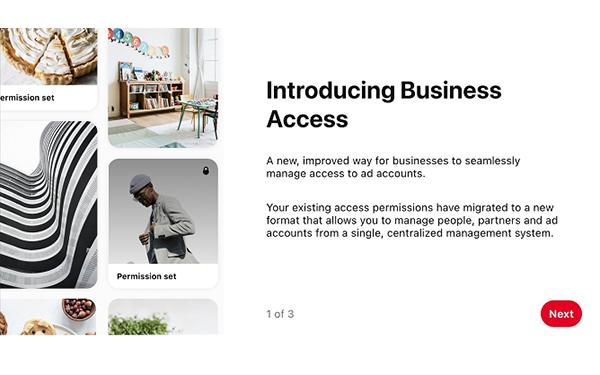 پینترست ابزارهای مدیریت حساب و تبلیغات را به روز میکند!