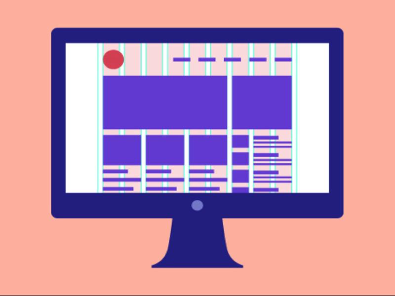 سیستم Grid در طراحی سایت  ترفندهای بهترین صفحه آرایی برای وبسایت