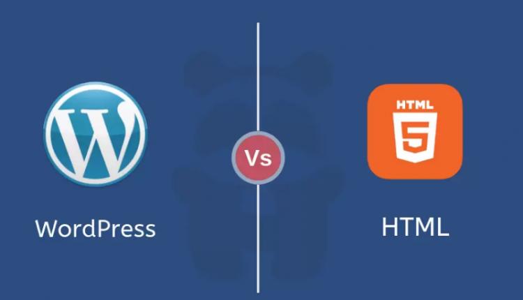 طراحی سایت وردپرسی یا HTML