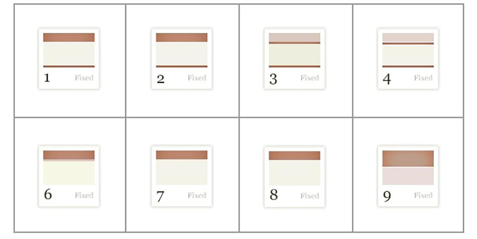 layout ثابت در طراحی سایت