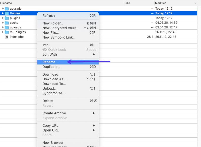 حل مشکل صفحه سفید وردپرس _ تکنیک 2